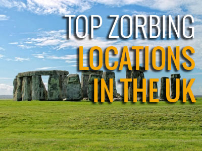 Top zorbing locations in the UK
