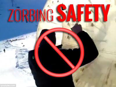 zorbing safety